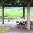 夏休み ~山梨・川遊び① 夕立 vs ランチ~