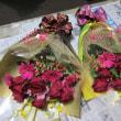 花束のご注文。