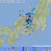メモ 長野地震