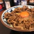丸亀製麺  牛すき釜玉
