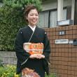 2.9.23 3件目の出張着付は堺市美原区、息子さんの結婚式で留袖の着付&ヘアメイクのお母様と妹さん