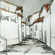 1345.カステロ・デ・ヴィデの町角