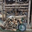 南薪長屋2号の薪の使用開始