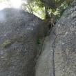 岩殿山から稚児落としまでの稜線歩きは楽しいです。
