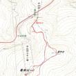 幌滝山のGPSトラック