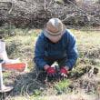 大地の再生×自然菜園講座(上野原)3月 2日目「里山の大地の再生講座  菜園に生きた点穴を開ける」
