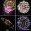 スマホで花火を撮ってみた。