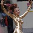 美しき芸術的金粉ショー