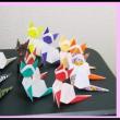 ランドセル・ねこ・花と蝶のオブジェ