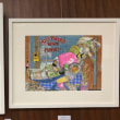 早稲田大学中野校『ペンと透明水彩で描くスケッチ講座』受講生作品