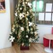 教室のクリスマスデコレーション