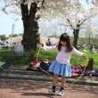 桜の下で~~