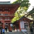 生田神社でポケモンGO
