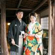 ご結婚おめでとうございます✩結婚式にて・花嫁さんの色打掛(安城・レンタル)