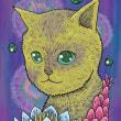 170627猫フォトショップイラスト。Photoshop。ねこ。ぬこ。