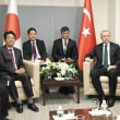 <安倍首相第73回国連総会出席> 日トルコ首脳会談 EPAの早期合意を確認