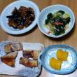 今日の朝食(9月20日)イナダの塩焼