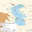 ロシアなど5カ国、カスピ海、「領海」を設定!第三国の軍を排除。