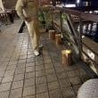ヒタトーチ×千年あかり in  日田温泉亀山亭ホテルのテラス[HITA TORCH ]