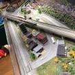 ジオラマを走行する鉄道模型を眺めながらお食事が楽しめるカフェ☆