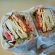 SURIPUのハムエッグサンドイッチ