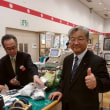 1月17日(水)のつぶやき 第5回まごころ製品大規模販売会 福岡三越9階 障害者の皆さんが丹精込めて作った、野菜、お菓子、木工品、工芸品など
