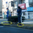 丸八通りで事故(2019/1/22)