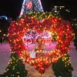 日本三大イルミネーション・・・光の芸術、テレビ塔付近