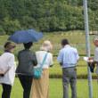 舞鶴市下佐波賀「殉難の碑公園追悼集会と参加と福知山初の米軍実弾訓練場を調査