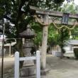 「浪速史跡巡り」諏訪神社(すわじんじゃ)は、大阪府大阪市城東区にある神社である。祭神・建御名方刀美命