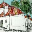 1643.アルカサール・ド・サルの町角