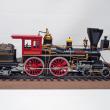 アメリカン4-4-0薪機関車 完成写真