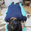 上体を反らすと腰が痛い 右膝内側が痛い 首の付け根が重だるい