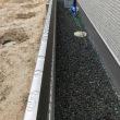 岡山市東区瀬戸町で境界塀新設工事完了