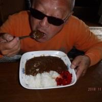●土曜日調理したカレーを食しました・・(о´∀`о)