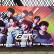 11月14日(火)のつぶやき:GOT7 2nd Mini Album TURN UP 2017.11.15 Release!!(JR原宿駅駅貼りポスター広告)