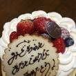 YOSHIさんのケーキ