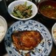 「昨日の晩御飯」!!「ブリの照り焼き」!!
