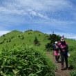 根子岳から四阿山へ