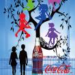 コーラの宣伝ポスター