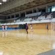 中学女子フットサルトレーニングマッチ