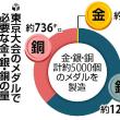 今日以降使えるダジャレ『2096』【オリンピック】■「東京」メダル作り、銀が足りない…低調な回収