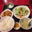 蝦仁青菜定食@池袋「永利 西口店」