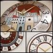 イタリア人作家「アントニオ・ザッカレラ」の陶器製時計の展示会を開催します。