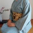 紬きもの塾 第5回「麻の伊達〆を縫う」ー運針から学ぶこと