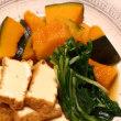 牛肉と小松菜のあんかけ焼きそば&鰆の幽庵漬け