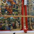山鉾の準備が進み、13日は山鉾の曳初。「函谷鉾」に上がり、お囃子を楽しむ夜