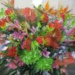 御祝スタンド花をお作り致しました。(祝〇周年)