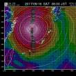 2017年9月大型台風18号