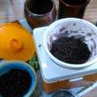 黒豆の味噌作り
